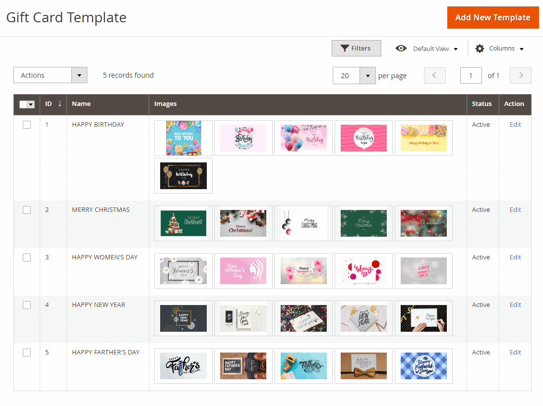 9.magento 2 gift card- template grid.png