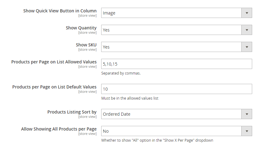 Reorder Product List Settings_2