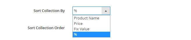 Sort collection by percentage