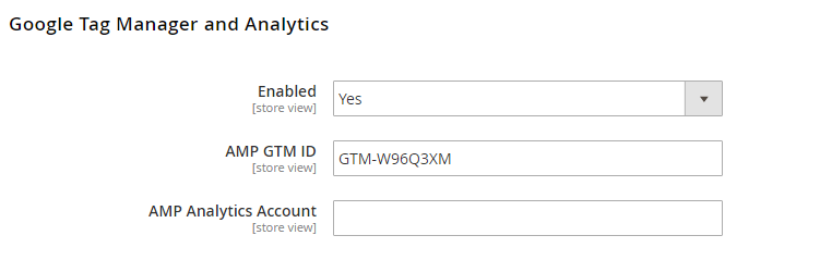 Google Tag Manager and Analytics