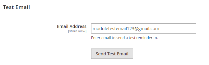 test email