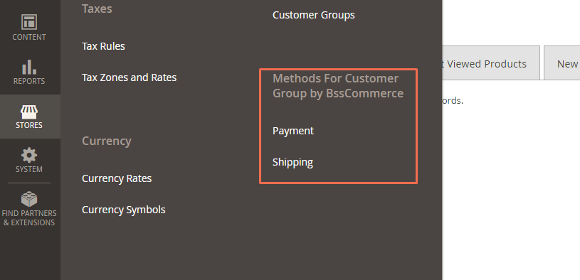 Shipping and Payment Method per Magento 2 Customer Group