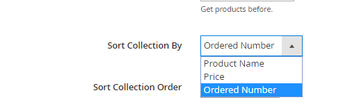 Sort Collection by ordered number