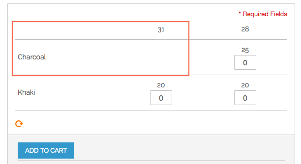 Not show out-of-stock number on Magento Configurable Product Matrix View