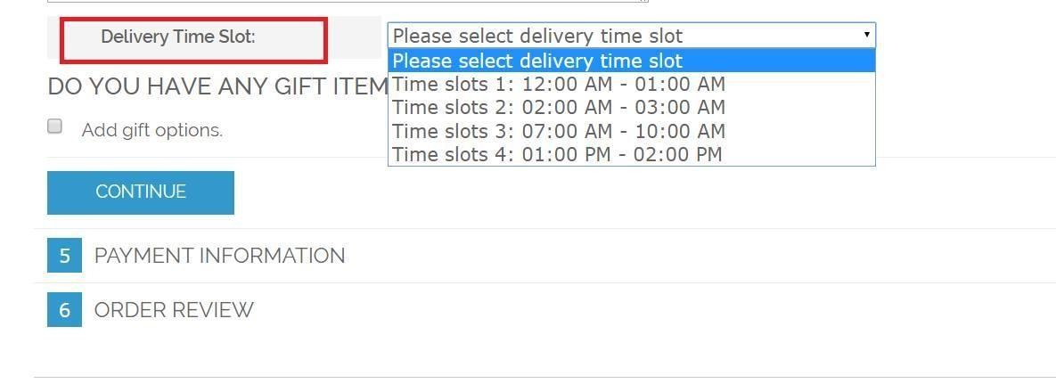 Magento Order Delivery Date frontend