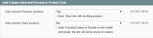 how to add column view and preview in product grid of Magento?
