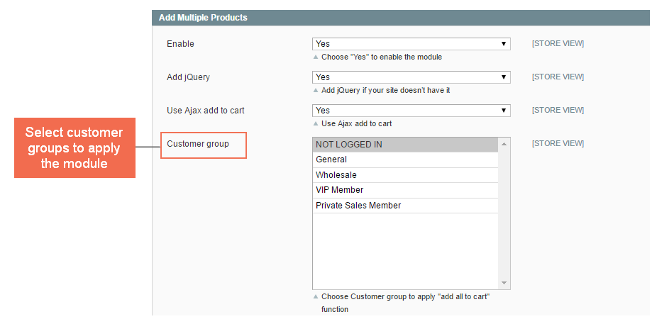 add multiple products to cart