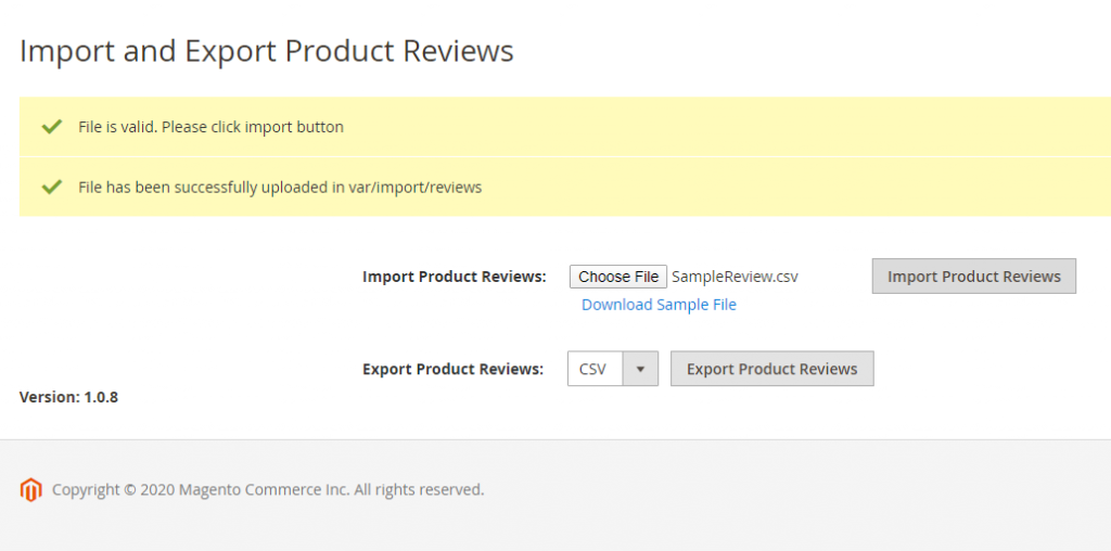 magento-2-import-export-product-reviews-validate