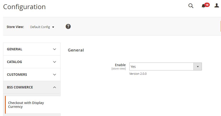 enable module