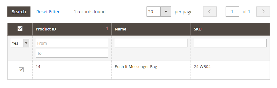 magento 2 product questions products assigned
